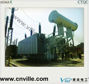 25mva 110kv Three-Winding No-Excitation Tapping Power Transformer pictures & photos