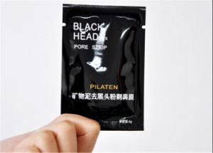 Pilaten Black Mud Mask Nose Blackhead Remover Deep Cleansing Peeling off Nose Mask pictures & photos