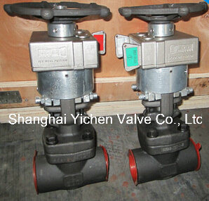 Mechanical Interlock Manual Gate Valve pictures & photos