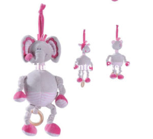 New Design of Baby Stuffed Plush Elephant Hang Toy pictures & photos