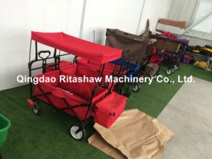Folding Wagon with Brake pictures & photos
