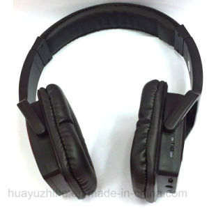 Bluetooth Wireless Headphone with FM and Micro SD pictures & photos