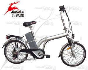 "CE 20"" 24V Lead Acid Battery Folding Electric Bike (JSL-018) pictures & photos"