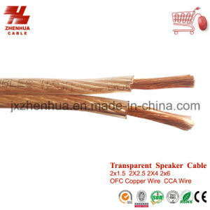 10AWG 12AWG 14AWG OFC Speaker Wire Cable pictures & photos