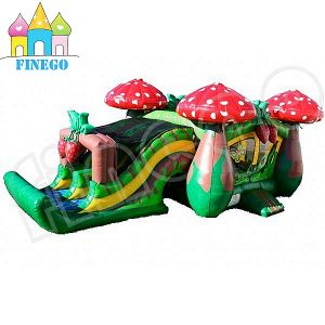 Hot Sale Inflatable Mushroom Bouncer Slide pictures & photos