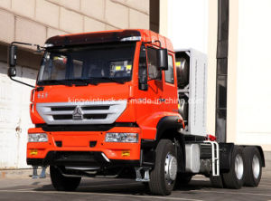 Sinotruk Golden Prince Brand Tractor Truck with LNG pictures & photos