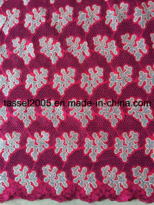 Heavy Africa Big Swiss Voile Lace, High Quality Swiss Lace for Party. pictures & photos