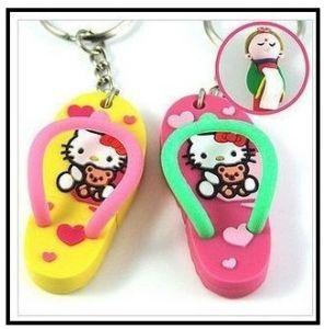 PVC Mini Flip Flop Pen Drive Memory Stick USB Flash Drive pictures & photos