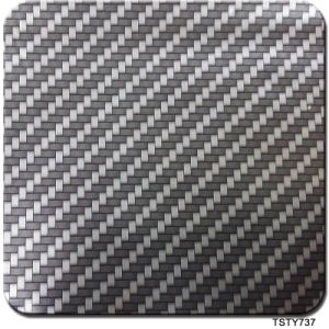 Tsautop 0.5m Width Carbon Fiber Tsty737 Hydrographic Water Transfer Printing Film pictures & photos