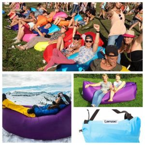 2017 New Technology Inflatable Air Couch, Inflatable Banana Bag Chair, Air Inflatable Sleeping Bag pictures & photos