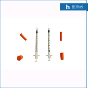 Disposable Insulin Syringe with Fixed Needle with Ce/ISO pictures & photos