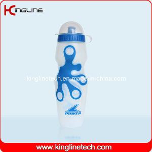 Plastic Sport Water Bottle, Plastic Sport Bottle, 650ml Plastic Drink Bottle (KL-6607) pictures & photos