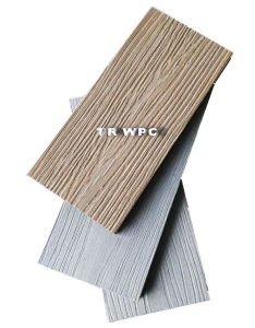 Wood Texture WPC Decking pictures & photos
