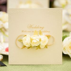 Custom Printed Wedding Invitation Card Greeting Cards pictures & photos