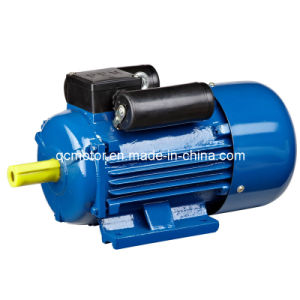 Yc Series Cast Iron Copper Wire Cold Sheet Stamping Capacitor Start Single Phase Electric Motor