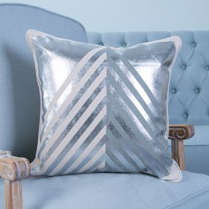Foil/Gold&Silver Printed Decorative Cushion/Pillow (MX-55A/B/C/D/E/G) pictures & photos
