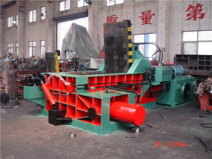 Baler Hydraulic Baler Scrap Metal Baler Recycling Machine Recycling Equipment (YDF-160A) pictures & photos