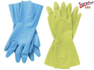 Household Latex Gloves M-40g (2014SFLG015) pictures & photos