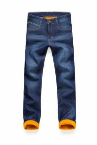 D841 Popular Winter Warm Fleece Lined Dedim Jeans pictures & photos