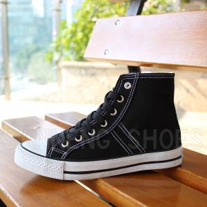 Basic Style Top Cut Canvas Shoes for Men/Boy (SNC-02166) pictures & photos