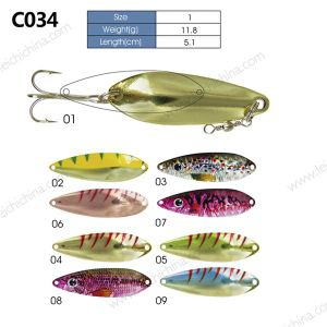 Colorful Hot Selling Metal Fishing Lure Spoon pictures & photos