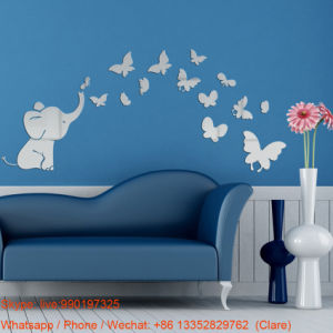 Custom Shape Acrylic Mirror Wall Sticker for Home Decoration pictures & photos