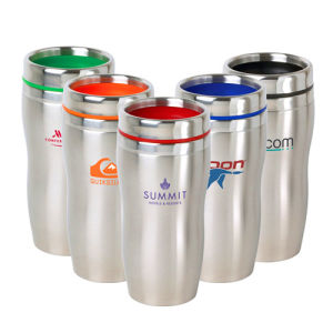Double Walls Stainless Steel Travel Mug with Clients Logo pictures & photos