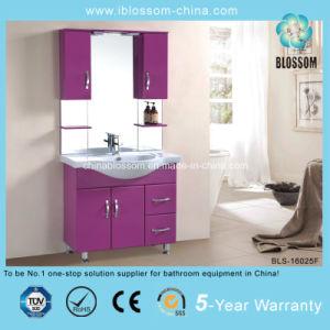 Romantic Purple Color Bathroom Cabinet Vanity (BLS-16025F) pictures & photos