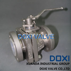 "1"" Semi Conductive Full Bore Floating Ball Valve pictures & photos"