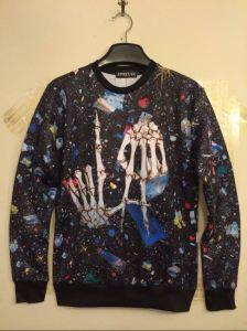 Skull Bone Allover Dark Streetwear Shirt pictures & photos