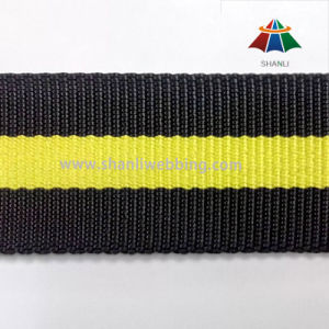 38mm Strong Striped Nylon Webbing for Bags and Belts pictures & photos