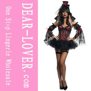 Ladies Gothic Vampire Halloween Costume (LC8622) pictures & photos