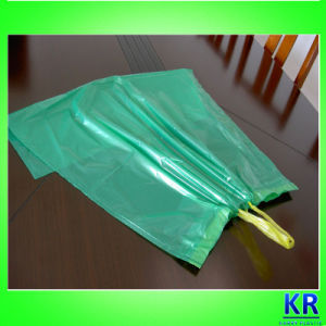 HDPE Drawtape Plastic Trash Bags with Handle pictures & photos