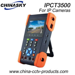 Universal CCTV IP Camera Tester with Video Display (IPCT3500) pictures & photos
