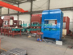 PLC Control Frame Rubber Hydraulic Vulcanizing Press Machine with Ce and ISO9001 pictures & photos