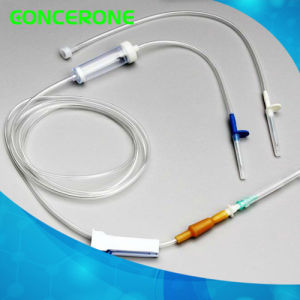Disposable IV Giving Infusion Set (IV-1021) pictures & photos