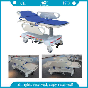 AG-HS008-1 Endoscope Cart Hospital Transport Stretcher pictures & photos