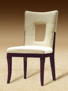 Hotel Wood Wooden Dining Dressing Chair Room Furniture (D13)