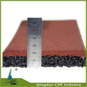 Rubber Material Gym 500X500X20mm Rubber Matting pictures & photos