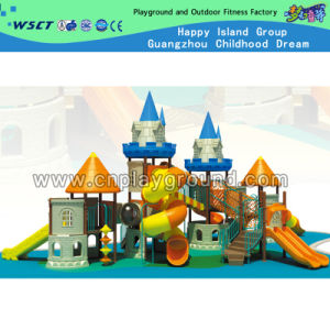 Plastic Playground Outdoor Castle Playground Equipment for Sale (HD-2203) pictures & photos