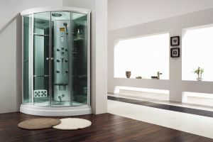 Monalisa Freestanding Fiberglass Steam Shower Room (M-8266) pictures & photos