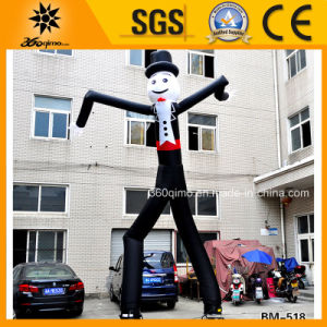 2017 Newest Inflatable Gentlman Air Dancer with 2 Legs
