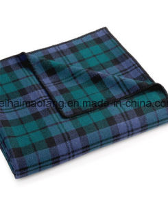 High-Quality Woven Pure Merino Wool Blanket pictures & photos