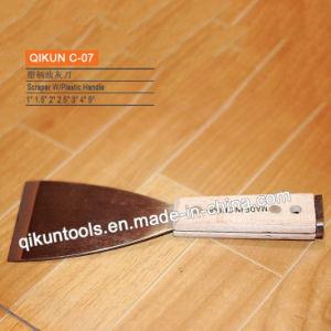 C-03 Wooden Handle Jack Type Scraper pictures & photos