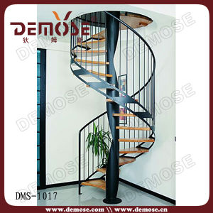 Beech Wood Spiral Staircase (DMS-1017)