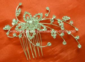 Rhinestone Tiara, Bridal Hair Comb H-34096, Wedding Tiara Hair Comb, Fashion Accessories