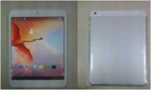 7.85inch Mtk8382 Quad-Core 3G Tablet PC with Bt and GPS (DM-MT7839)