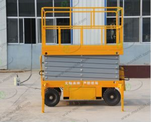 CE Approved Mobile Scissor Lift with Top Quality pictures & photos