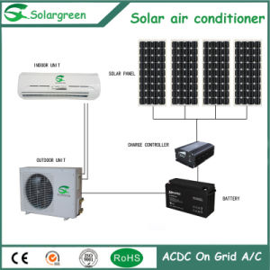 6000BTU DC 12V Latest Technology Cheap 100% Solar Air Conditioner pictures & photos