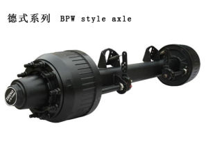 Germany Tyre 13t Axle of Semi Trailer From China Factory pictures & photos